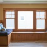 custom built-in woodwork