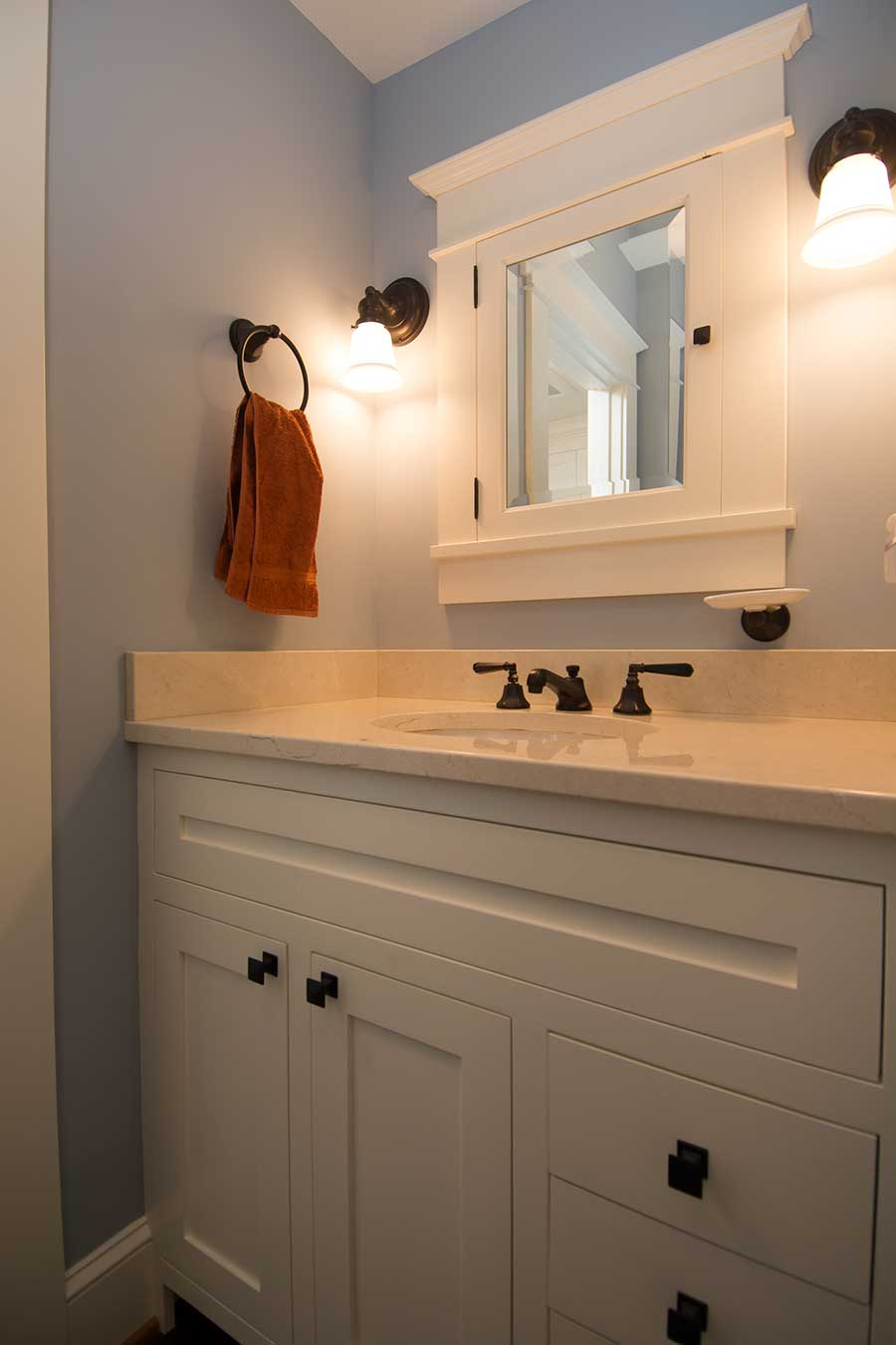 Custom Bathroom Vanities Portland Oregon custom built-in cabinets and woodworking projects
