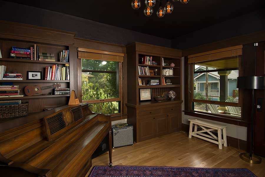 Craftsman Fir Built-Ins