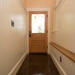 Wainscoting in Hallway