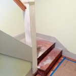 Before: Bungalow Staircase Remodel
