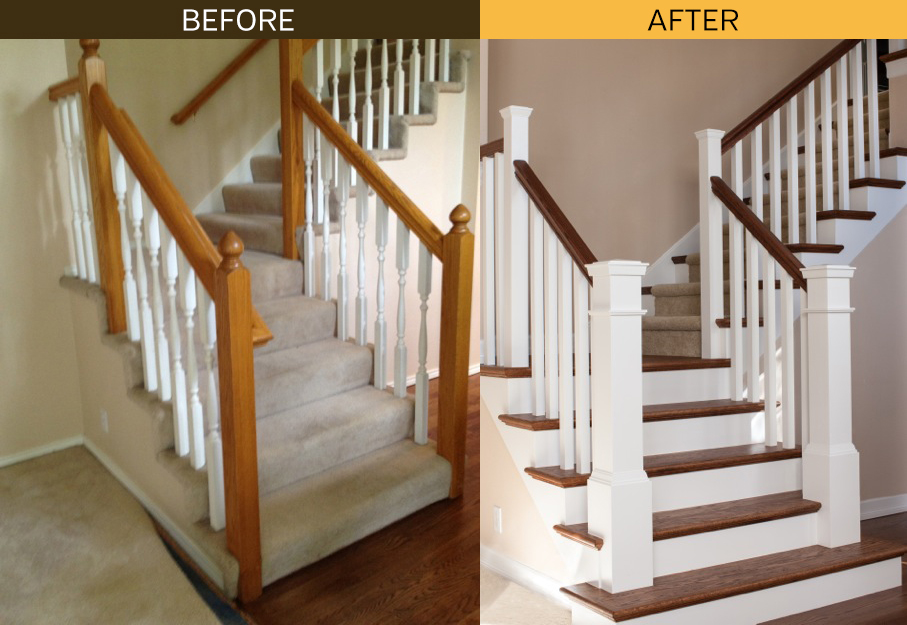 Staircase Skirt Boards