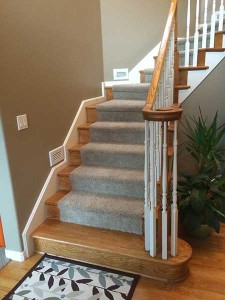 Staircase Remodel Before Photo