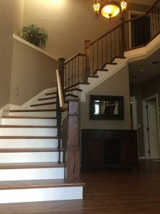 Staircase Remodel After Photo