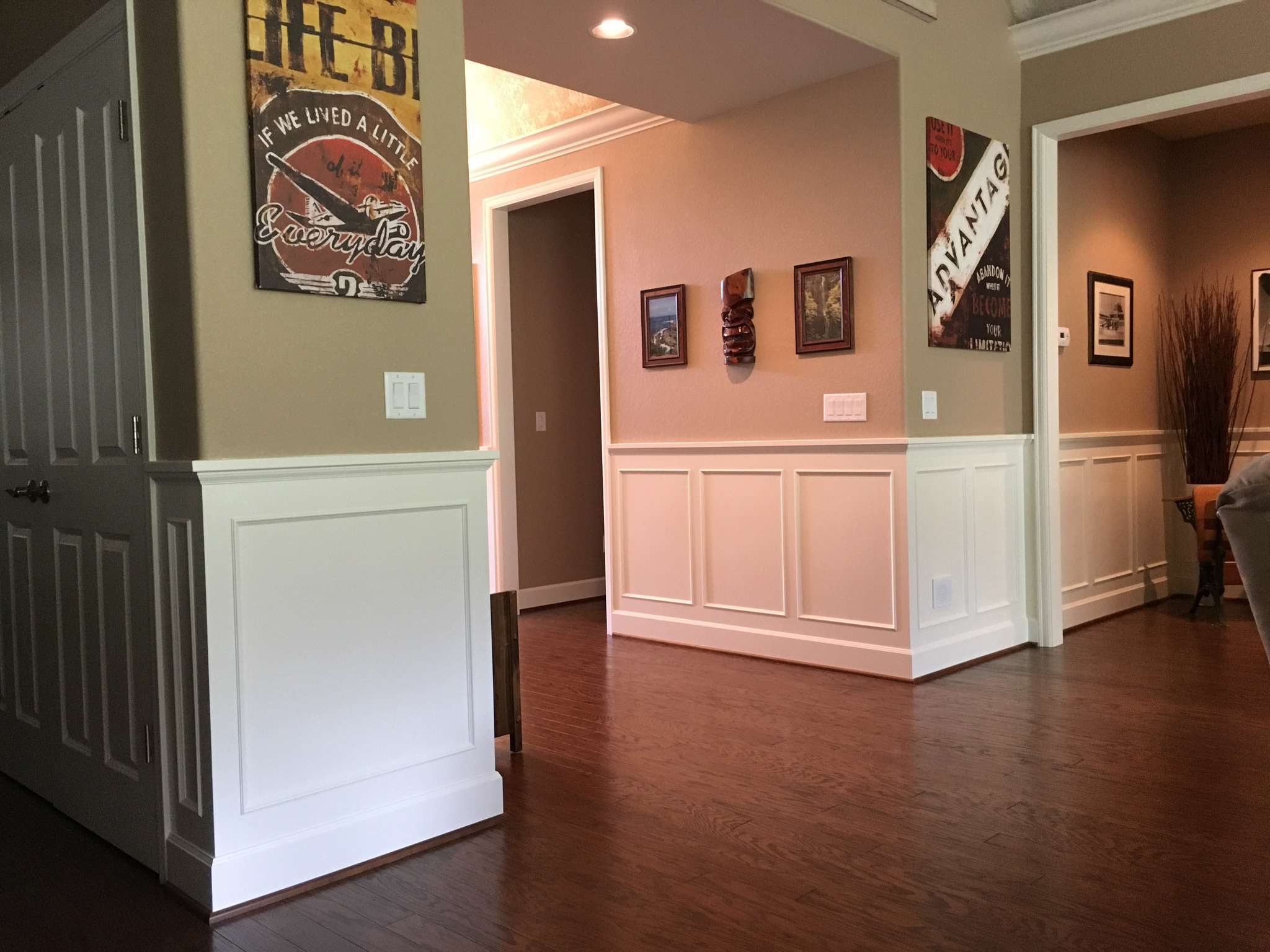 Wainscoting Done Right Young Amp Son Woodworks Stairs