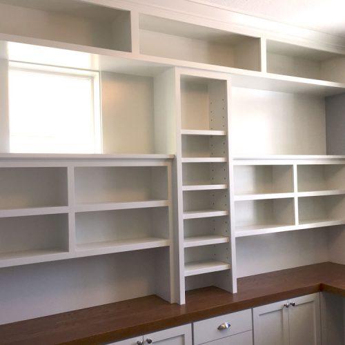 Builtin Shelves