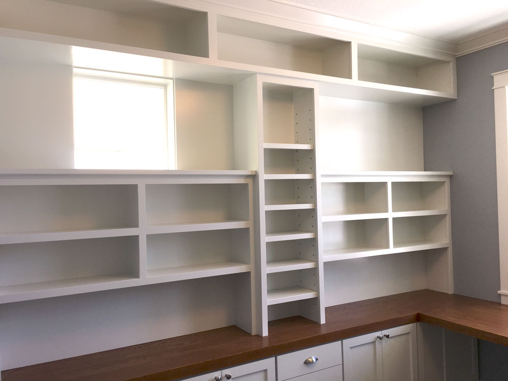 Builtin Shelves