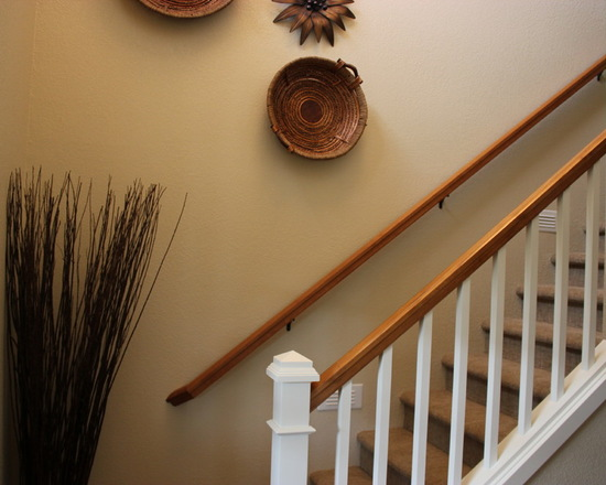 After the staircase remodel photo