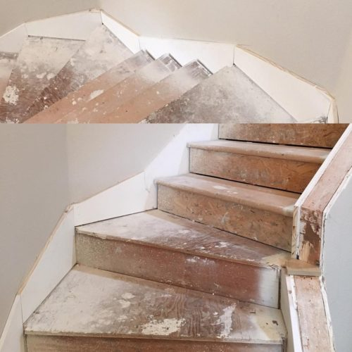 Staircase Skirt Board